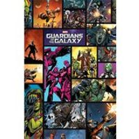 Marvel Guardians Of The Galaxy Comics - 24 x 36 Inches Maxi Poster