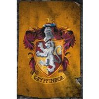 Harry Potter Gryffindor Flag - 24 x 36 Inches Maxi Poster