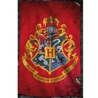 Harry Potter Hogwarts Flag - 24 x 36 Inches Maxi Poster