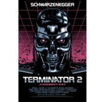 Terminator 2 Signalnoise Metallic Variant Zavvi Exclusive - 18 x 24 Inches Numbered Screen Print