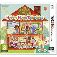 Animal Crossing: Happy Home Designer - Includes amiibo Card