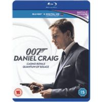Daniel Craig 007 Double Pack - Casino Royale / Quantum of Solace (Includes HD UltraViolet Copy)
