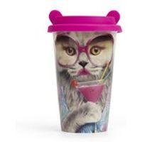 Coffee Crew Ceramic Cup - Cat