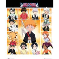 Bleach Chibi Characters - 16 x 20 Inches Mini Poster