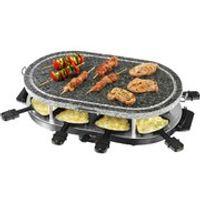 Swan SP17030N Stone Raclette Grill - Black