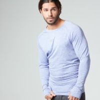 Myprotein Men's Long Sleeve Loose Fit Training Top - Blue - S