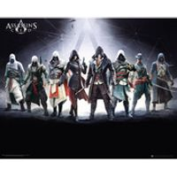 Assassins Creed Characters - 16 x 20 Inches Mini Poster