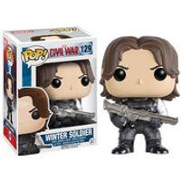Marvel Captain America Civil War Winter Soldier Pop! Vinyl Figure