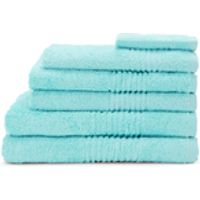 Highams 100% Egyptian Cotton 6 Piece Towel Bale (550gsm) - Aqua