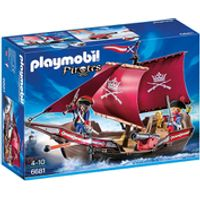 Playmobil Pirates Soldiers Cannon Boat (6681)