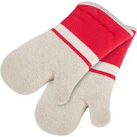 Morphy Richards 973521 Set of 2 Oven Mits - Red