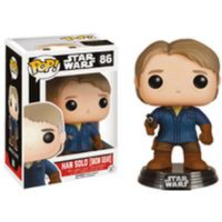 Star Wars The Force Awakens Han Solo Snow Gear Pop! Vinyl Bobble Head