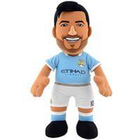 Manchester City FC Sergio Aguero 10 Inch Bleacher Creature