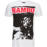 Rambo Mens Stare T-Shirt - White - S