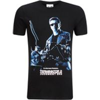Terminator 2 Mens Judgment Day T-Shirt - Black - S