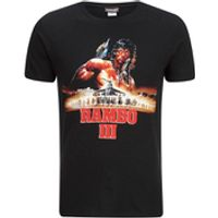Rambo 3 Mens T-Shirt - Black - S
