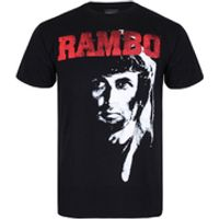 Rambo 2 Mens T-Shirt - Black - S