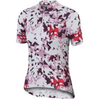 Sportful Game Childrens Short Sleeve Jersey - White/Pink - 8 Years