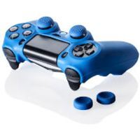 Prif Controller Kit Includes Skin and Thumb Grips (PS4)