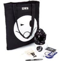 Edwin Mens Gift Bundle - White (Free Gift)