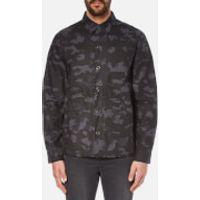Cheap Monday Mens Overshirt Jacket - Dark Grey - L