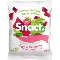 Snact Fruit Jerky - Apple & Raspberry (5 Bags)