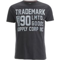 Threadbare Mens Palm T-Shirt - Black - XXL