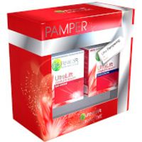 Garnier Ultralift Pamper Gift Set