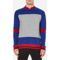 Cheap Monday Mens Sprint Sweatshirt - Royal Blue - L