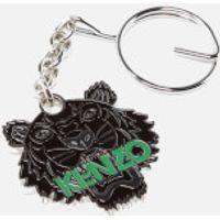 KENZO Mens Tiger Keychain - Black