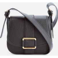 MICHAEL MICHAEL KORS Womens Maxine Mid Saddle Bag - Black