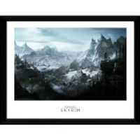 Skyrim Vista Framed Photographic - 16 x 12