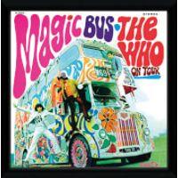 The Who Magic Bus Framed Album Cover - 12 x 12