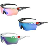 Salice 006 ITA Sports Sunglasses - Sports Sunglasses - White/Green