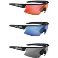 Salice CSPEED RW Sports Sunglasses - Mirror - Black/RW Blue