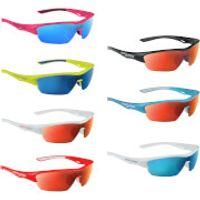 Salice 011 RW Sports Sunglasses - Mirror - White-Blue/RW Blue