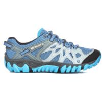 Merrell Womens All Out Blaze Aero Sport Trainers - Blue Haven - UK 7