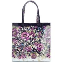 Ted Baker Womens Alencon Entangled Enchantment Large Icon Bag - Navy