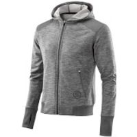 Skins Plus Mens Signal Tech Fleece Hoody - Clay/Marle - S