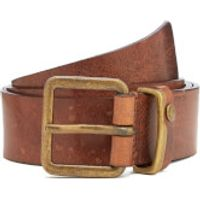 Ted Baker Mens Katchup Casual Leather Belt - Tan - 34
