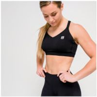 IdealFit Core Sports Bra - Black - S - Black