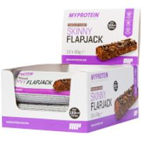 Active Women Skinny Flapjacks - 12 x 50g - Box - Chocolate