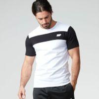 Myprotein Mens Core Stripe T-Shirt - Grey, S