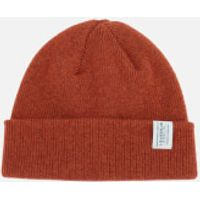 Barbour Mens Lambswool Watch Cap - Clay Red