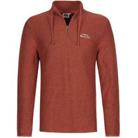 Weird Fish Cruiser Classic 1/4 Zip Macaroni Sweatshirt Chilli Red Size 3XL