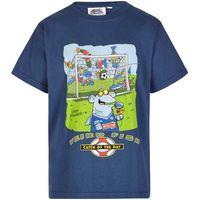 Weird Fish Catch Of The Day Boy's Artist T-Shirt Ensign Blue Size 11-12