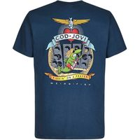 Weird Fish Cod Jovi Artist T-Shirt Moonlight Blue Size 4XL