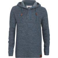 Weird Fish Mendoza Jarse Hooded Sweatshirt Blue Mirage Size XL