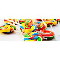 Disco Pop Swirly Lollies