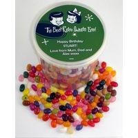 Personalised Gourmet Jelly Beans Bucket (20+ designs)